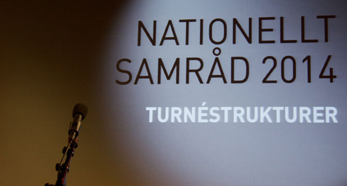 Nationellt samråd 2014. Foto: Jan Renell