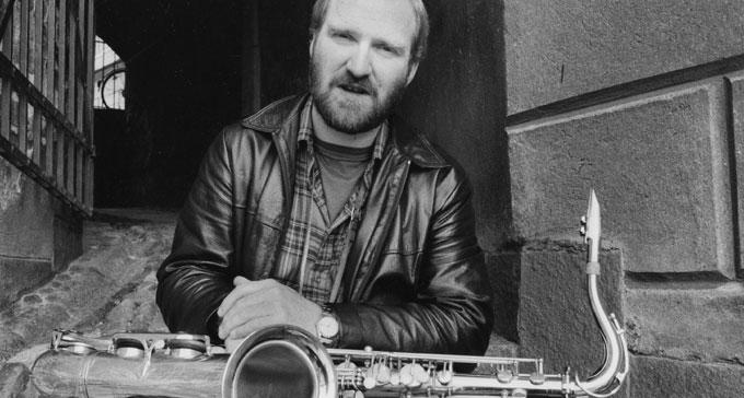 Tommy Koverhult i Tommy Koverhults Kvintett som fick 1983 års Jazz i Sverige-pris.