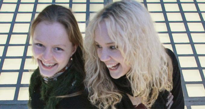 Antje Rößeler och Sanna Ruohoniemi