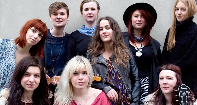 Ladies Got The Blues är ett av banden som spelar på Women in Jazz. Foto: Anna Janerås