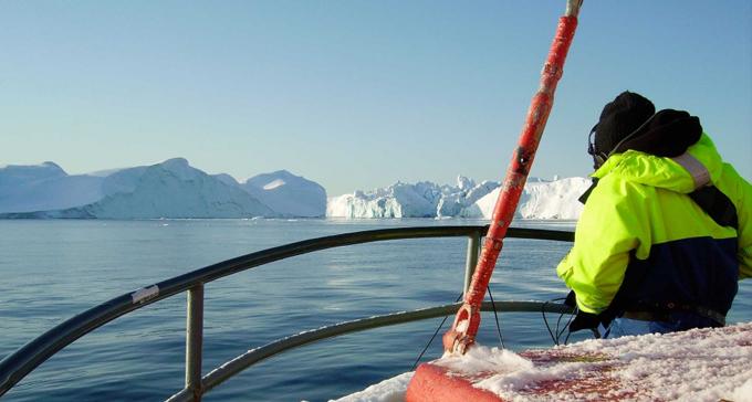 Jana Winderen utforskar havsdjupen i sin ljudkonst.