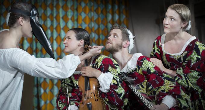 Scen ur Kurtisanen & Kärleken. Foto: Operabyrån