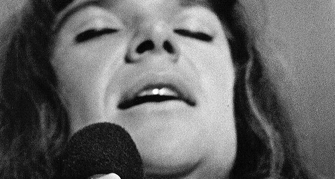 Jazzsångerskan Nannie Porres. Foto: Christer Landegren