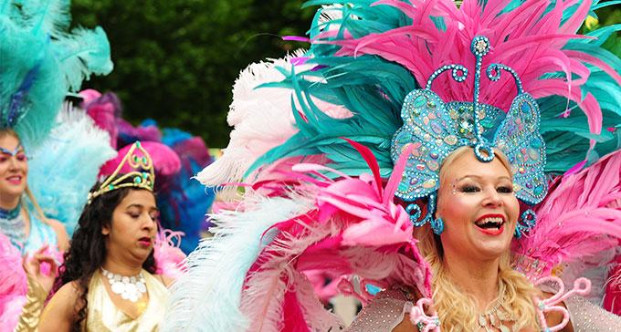 I helgen går Kulturernas Karneval av stapeln i Uppsala. Foto: Roger Ferm.
