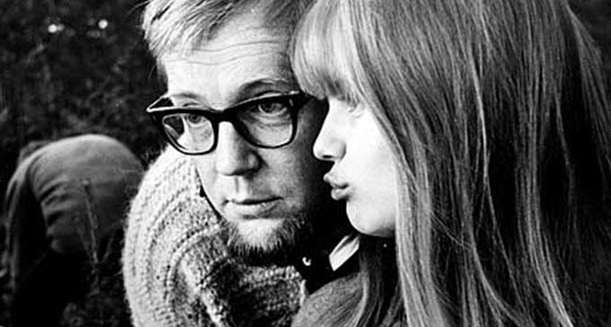 Lena Nyman och Vilgot Sjöman.
