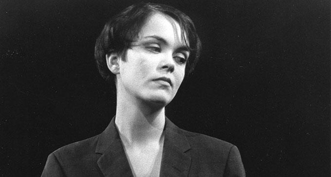 Stina Nordenstam fick utstå kritik när hon debuterade. Foto: Christer Landergren