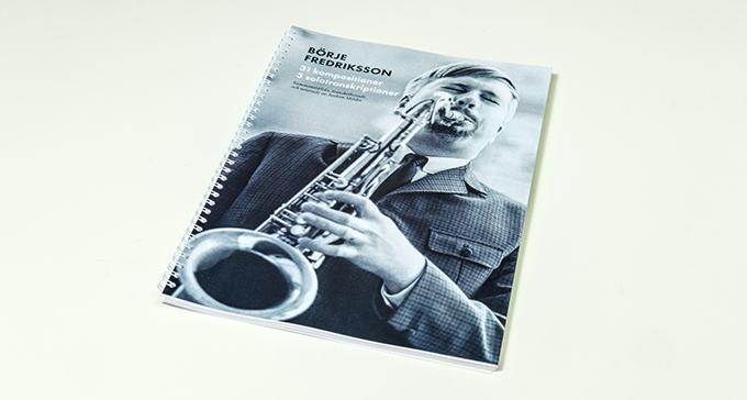 Börje Fredrikssons noter släpps i ny bok från Svenskt visarkiv.